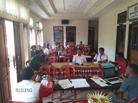 Lagi, Sosialisasi PKT Untuk Program Pembangunan Fisik Desa Sepang
